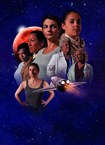 Women of 4G poster art
